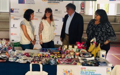 Sensibilización sobre el Daño Cerebral en el 5º Mercadillo Solidario organizado por FUNCAVE