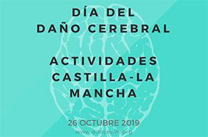 Programa de actividades de ADACE CLM en toda la región con motivo del Día del Daño Cerebral 2019