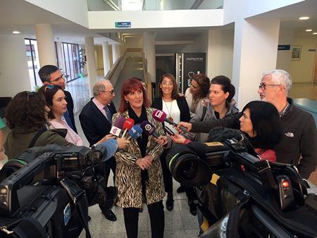 Declaraciones de Ana Cabellos en el acto institucional en el IEN de Guadalajara con motivo del Día del Daño Cerebral Sobrevenido (DCS)