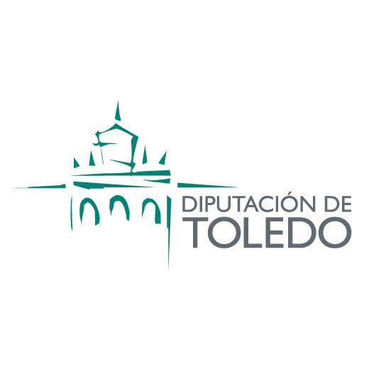 Logo de la Diputación Provincial de Toledo, colaborador de ADACE CLM