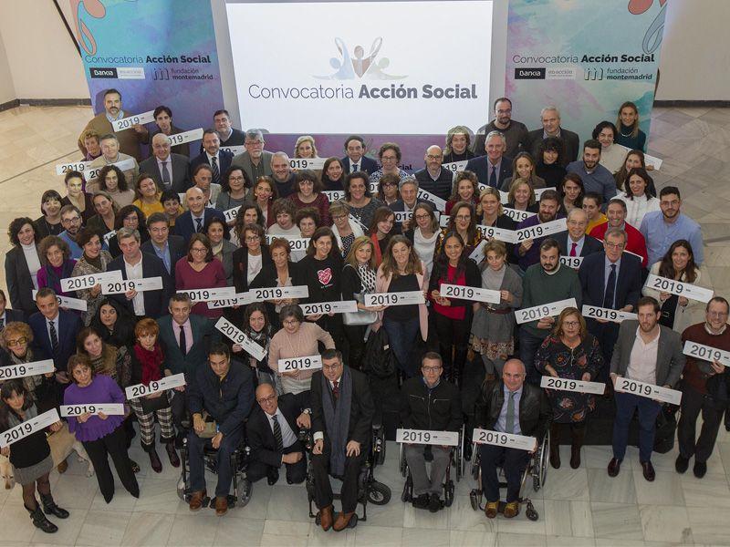Foto de familia Convocatoria Accion Social 2019 a la que ha acudido ADACE CLM