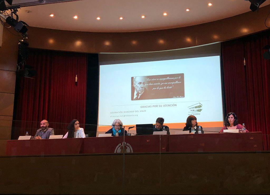 """Mesa Redonda """"Daño Cerebral y Educación Social"""" en la que se expuso el trabajo del Club de Lectura de ADACE CLM"""