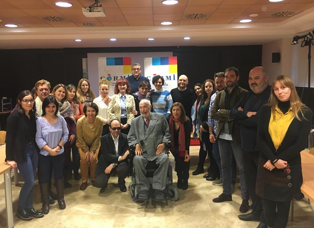 Foto de familia del Movimiento Asociativo de la Discapacidad de Castilla-La Mancha