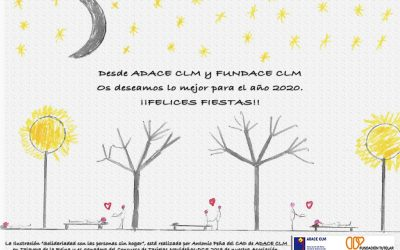 El equipo profesional de ADACE CLM os desea unas Felices Fiestas y un próspero 2020