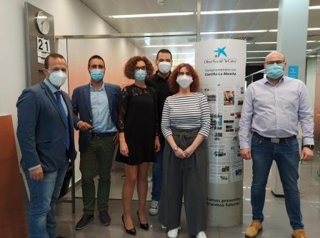 Obra Social 'La Caixa' ha donado 3.000€ a ADACE CLM para dotarse de material para retomar la actividad presencial