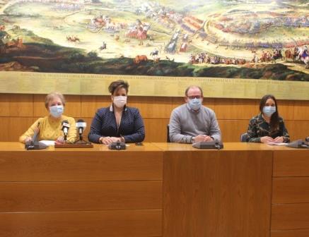 Acto institucional del Día del Daño Cerebral 2020 en el Ayuntamiento de Almansa