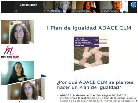 ADACE CLM es referente en el sector social de Castilla-La Mancha con la aprobación de su Plan de Igualdad