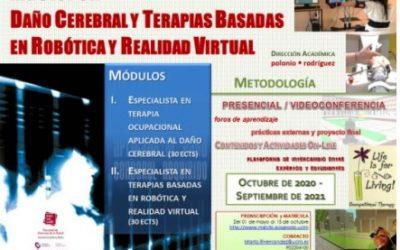 Aportamos nuestra experiencia en un Máster en Daño Cerebral de la Universidad de Castilla-La Mancha