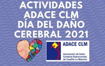 Programa de actividades de ADACE CLM en la región con motivo del Día del Daño Cerebral 2021